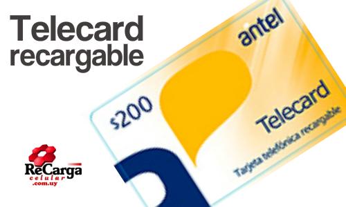 Telecard Recargable
