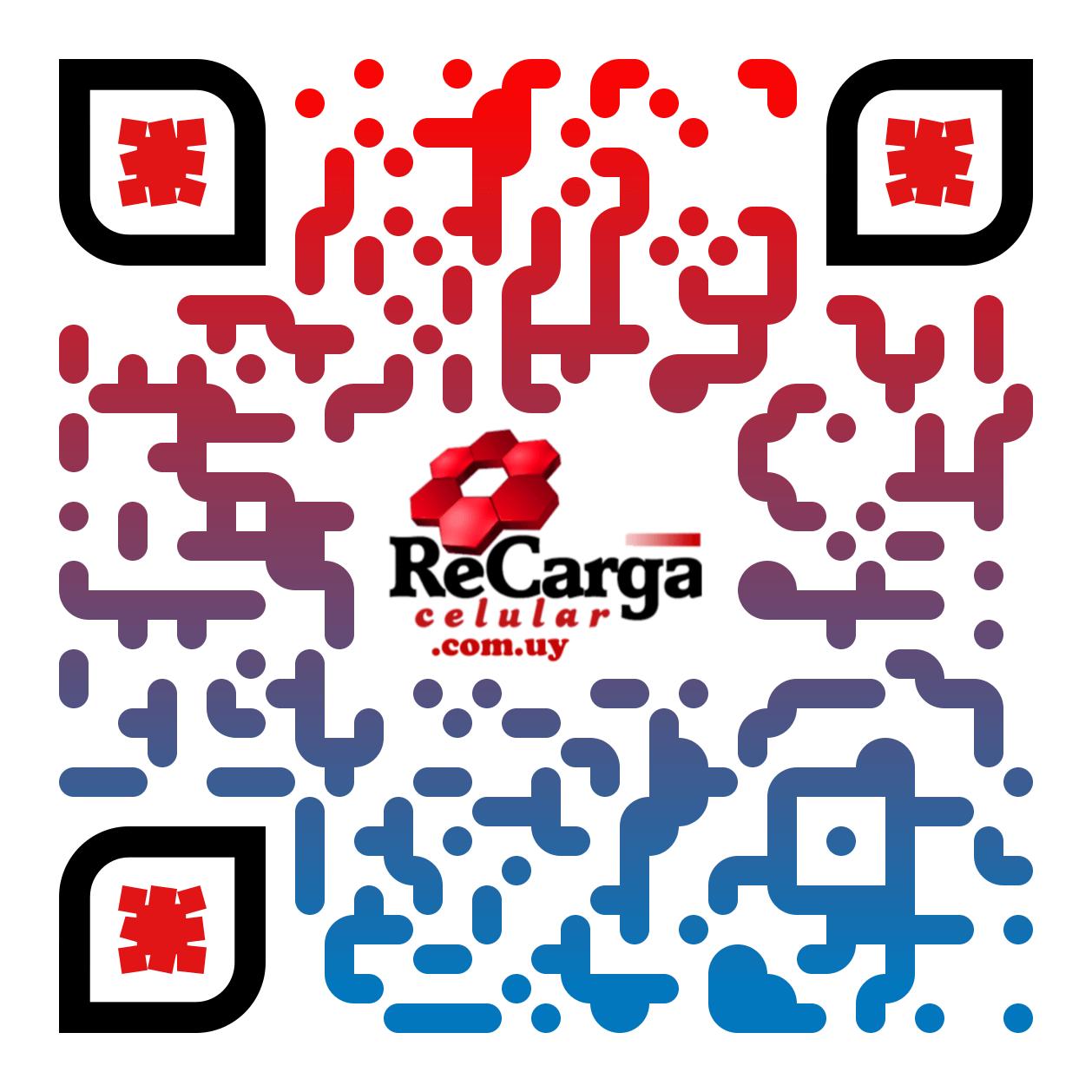 QR Recarga de celulares para comercios de Uruguay